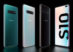 Samsung Galaxy S10, S10e and S10 Plus unveiled at Samsung's Unpacked Event.