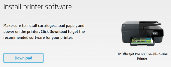 123.hp.com/setup 6830 Printer Driver Download