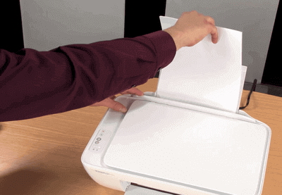 123 HP Deskjet 2132 Load Paper