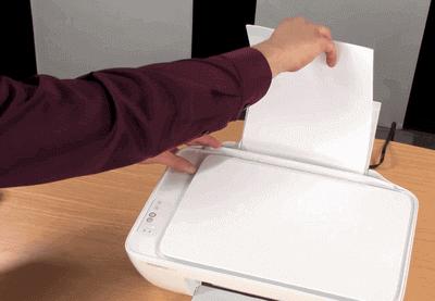 123 hp deskjet 1000 Load Paper