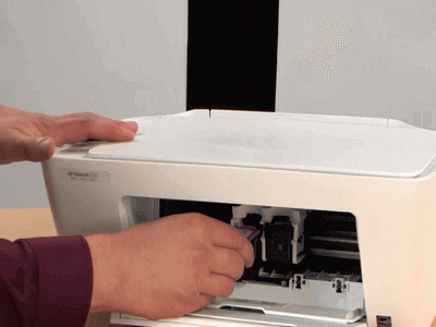 123-hp-deskjet-1112-Ink-Cartridge-Install