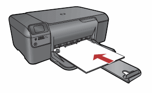 123 Hp OfficeJet Pro 8618-Load-Paper